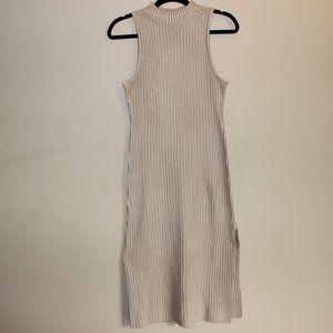 NWT Lovers + Friends Sleeveless Knit Dress Brn S